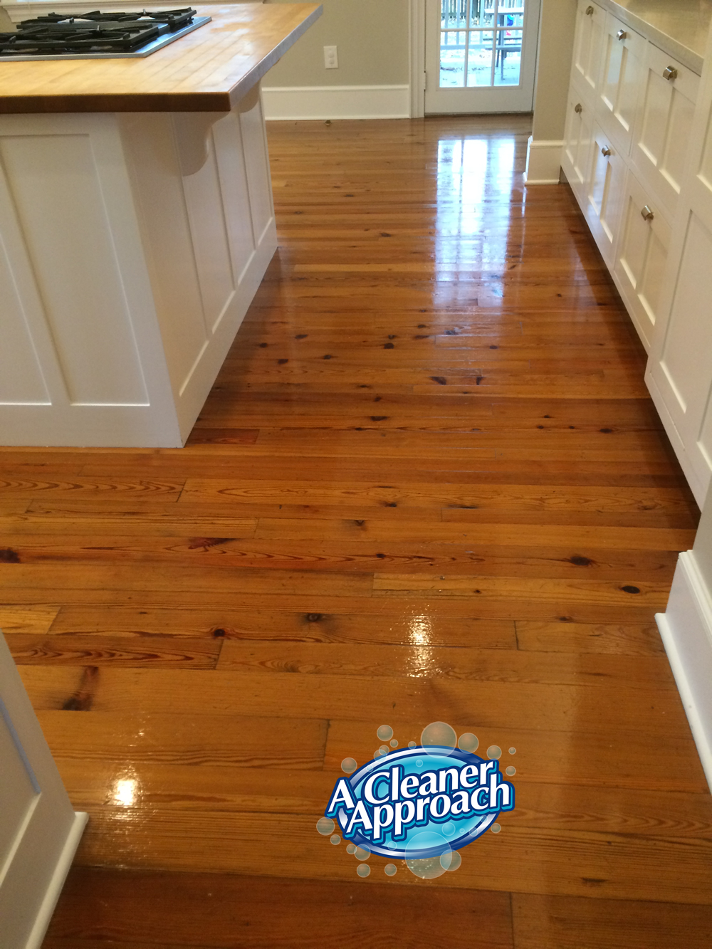 Wood Floor Cleaning 1